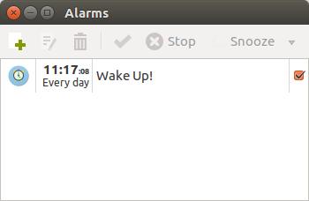 Wake Up with Spotify Alarm Clock for Ubuntu Linux | George